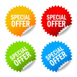 Special Offers set dates only
