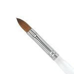 Acrylic brush Pure Kolinsky Size 10
