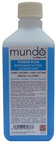 MUNDO NEW Power Plus Instrument & Tool Disinfectant 500ml