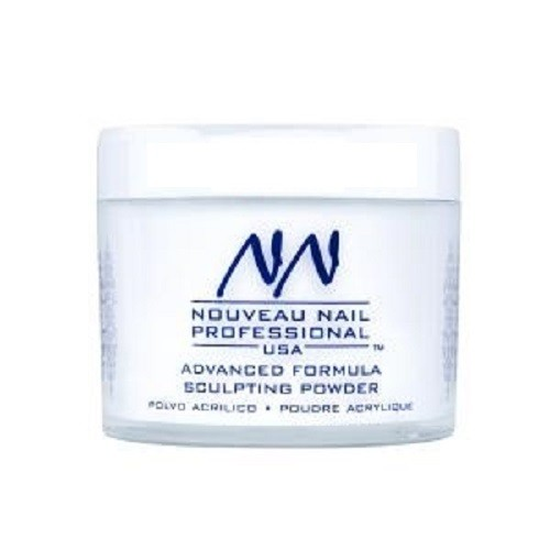 Nouveau Nail Advanced Formula Acrylic Powder ( 0.75oz., 20gm)  CLEAR - WHITER WHITE - SOFT PINK - QUICK DIP