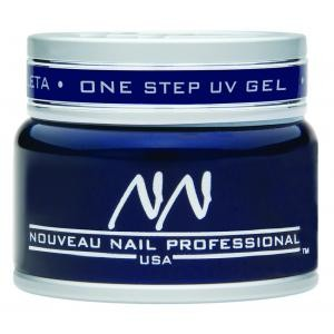 Nouveau Nail One-Step UV Gel 15gm  1/2oz  CLEAR