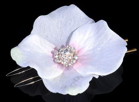 **SALE** Swarovski crystal Flower Glamour white /pink