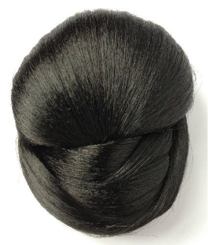 **SALE** Stranded Hair Bun Valley Synthetic *BLACK* SALE LAST FEW