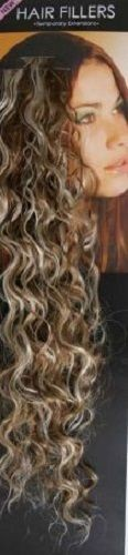 **SALE** Synthetic hair streaks highlights curly blonde brown 10 pieces