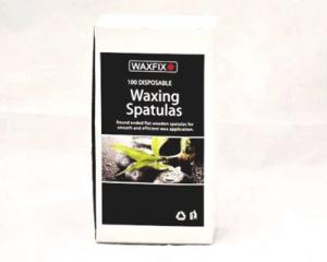 WaxFix Waxing Spatulas Wooden x 100