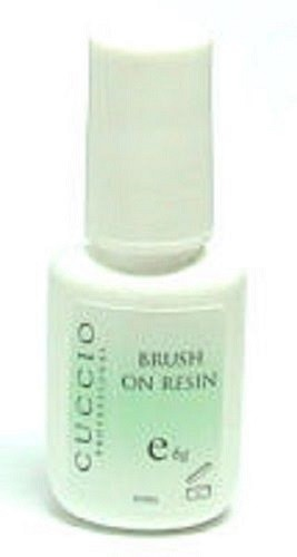 NAIL BRUSH ON RESIN 6 GRAM FOR QUICK DIP, OR SILK OR FIBREGLASS NAILS