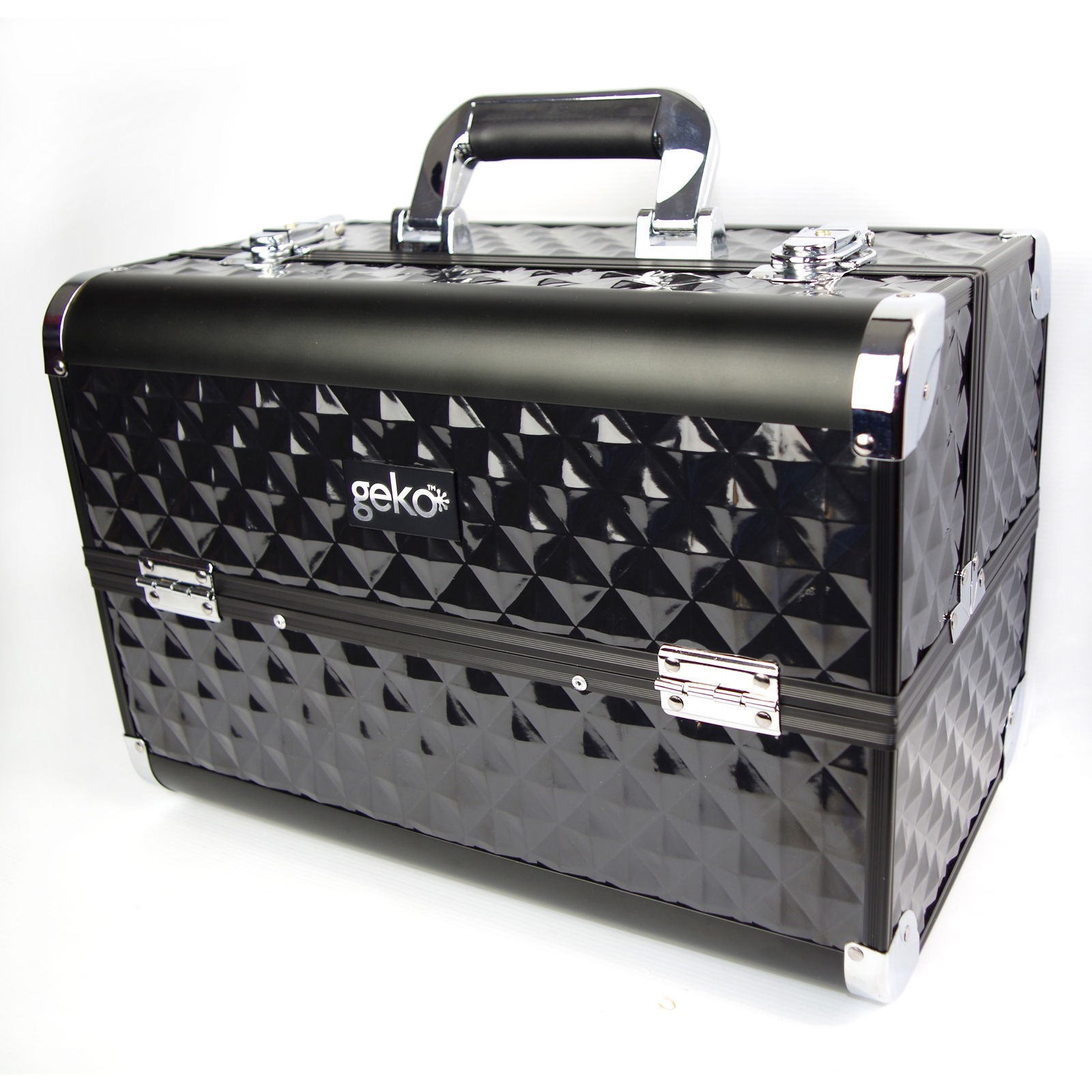 Professional Aluminium HEAVY DUTY Beauty Box by Geko™