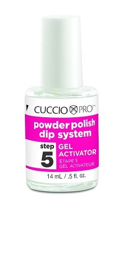 Cuccio - Acrylic Nail Colour Dip System - Gel Activator 14ml (Step 5)