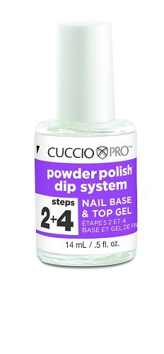 Cuccio - Acrylic Nail Colour Dip System - Nail Base & Top Gel 14ml (Step 2 & 4)