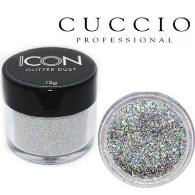 NEW Cuccio Icon Glitter Dust - Add extra glam to nails, face or body